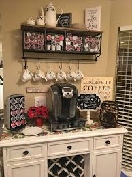 kitchen coffee bar ideas kitchen coffee bar station ideas 24 spaces