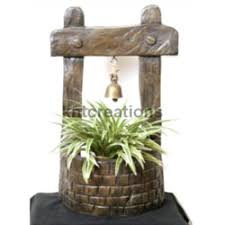 aria wishing well planter exporter from pune