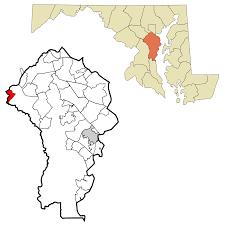 Zip Code Map Maryland maryland city maryland wikipedia