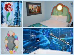 room little mermaid rooms at art of animation home decor