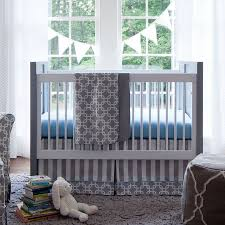 Unique Crib Bedding Sets by Neutral Periwinkle Blue Giraffe Baby Nursery Room Decorating Ideas