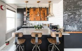 white kitchen black island small industrial kitchen black island with white countertop