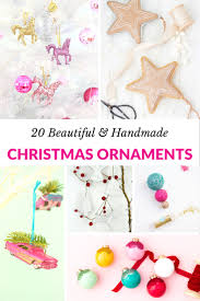 20 beautiful handmade christmas ornaments mommy moment