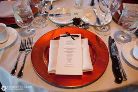Table Setting Chargers - photo gallery