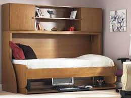 Full Size Bed With Desk Exciting Queen Size Murphy Bed With Desk 12 In Modern Decoration