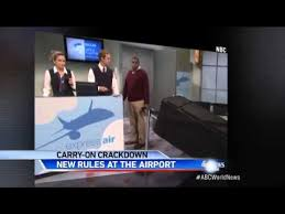 united carry on rules united airlines cracking down on baggage size youtube