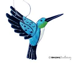 bird ornaments pk meaning glass tree clip on