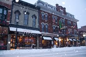 s restaurant cedar falls downtown cedar falls iowa in winter iowa iowa and