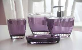 Acrylic Bathroom Accessories 15 Elegant Purple Bathroom Accessories Home Design Lover
