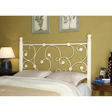 Iron And Wood Headboards White Headboard Queen U2013 Dawnwatson Me