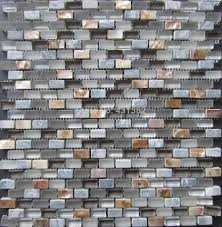 Glass Mosaic TilesStone MosaicMixed Shell Mosaic Tile - Stone glass mosaic tile backsplash