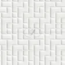 white interior 3d wall panel texture seamless 02988