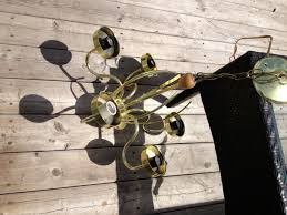 Homemade Outdoor Chandelier by Diy Outdoor Chandelier Found This Brass Light Fixture Pulled Out