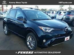 toyota rav4 2017 new toyota rav4 platinum fwd at kearny mesa toyota serving