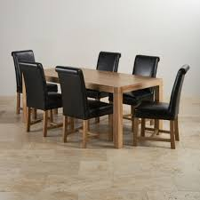 Oak Table And Chairs 6ft Dining Sets Finance Available Oak Furniture Land