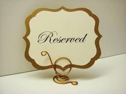 Wedding Buffet Signs by Wedding Reserved Table Sign Elegant Vintage Label Design Reserves