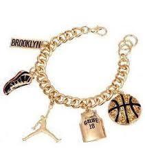 bracelet charms ebay images Basketball charm ebay JPG
