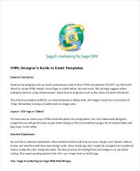 6 printable html email templates free u0026 premium templates