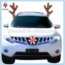 reindeer antlers for car wow antlers 14 led vehicle reindeer antlers with candy nose