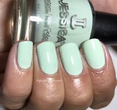 my nail polish obsession jessica cosmetics polished in pastels