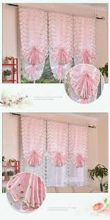 2017 pink white joyous roman blinds short curtain curtains for