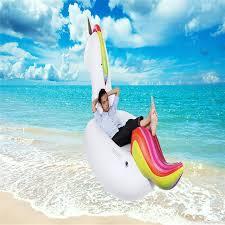 canap gonflable piscine gonflable géant tony unicorn air canapé air matelas flottant