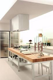 stainless kitchen island contemporary small kitchen island ideas stainless stell chimney