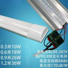 led tube light fixture t8 4ft 40x new led purification fixture 2ft 3ft 4ft 18w 26w 36w led surface