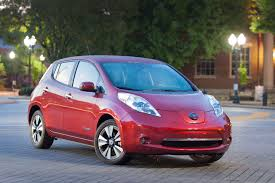nissan leaf back electric car sales decline with cheap gas prices nissan leaf