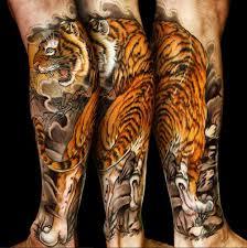 ideas on tatluv neo japanese tiger leg