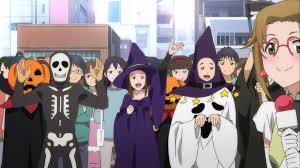 halloween background characters spoilers rewatch love live rewatch love live season 2 episode