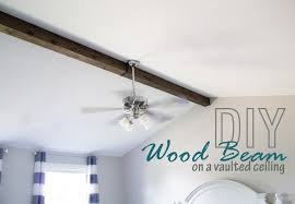 vaulted ceiling beams how to faux wood beam on a vaulted ceiling the hazel darling