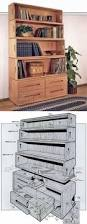 barrister bookcase plans furniture plans and projects