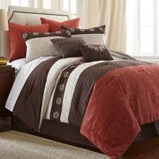 Pink And Brown Comforter Sets Total Fab Bright To Burnt Orange And Brown Comforter U0026 Bedding Sets