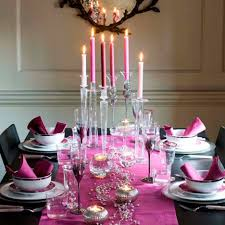 table centerpieces with candles decoration impressive dining room decoration using very tall
