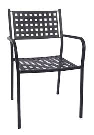 patio chair asf of 04 matrix back patio chair with armrest