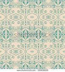 set vintage seamless pattern design packaging stock vector