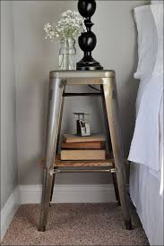 Metal Nightstands With Drawers Bedroom Marvelous Antique Nightstands Lockable Nightstand Cool
