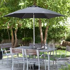 Aluminum Patio Umbrella by Destinationgear 8 5 Ft Aluminum Market Umbrella With Wind