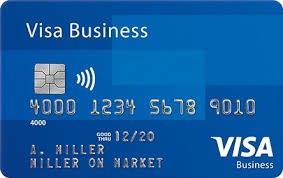Credit Card Business Cards Designs Small Business Cards Visa