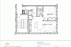 Small One Level House Plans 1 Bedroom Open Floor Plans Submited Images Small One Level House