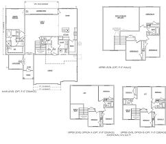hillside floor plan salisbury homes