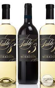 gold wine bottle table numbers wedding table number wine labels wedding wine labels gold foil