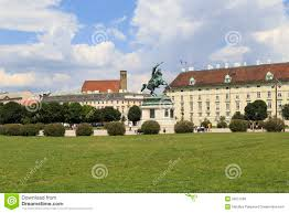 Home Of Prince by Austria Vienna July 23 Equestrian Statue Of Prince Eugene Of
