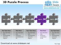 how to make create 3 d puzzle pieces connected jigsaw powerpoint pr u2026