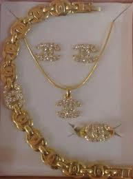 gold filled necklace set images Buy 14k bangkok hongkong commercial gold filled jewelry sets jpg