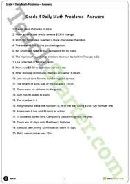 math problems for grade 4 problem solving teaching resources teach starter