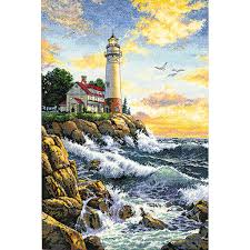 dimensions counted cross stitch kit rocky point
