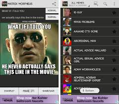 Mãªme Generator - 3 great android tools to make memes on the go