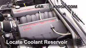 2005 corvette engine how to add coolant chevrolet corvette 2005 2013 2005